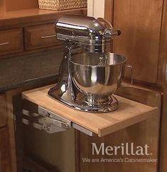 Merillat Masterpiece® Base Mixer Shelf - Merillat