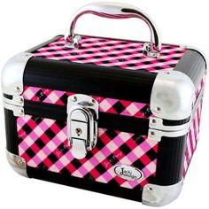Maleta Frasqueira Jacki Design Xadrez JPC22933 Pink - Megazim