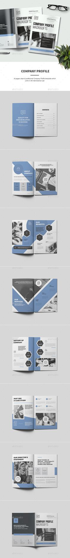 University - College Brochure Template - 16 Pages ...