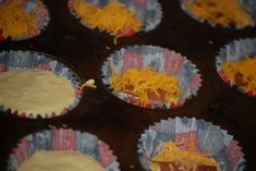 Corn Dog Muffins - like ours but scratch instead of jiffy