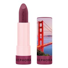 Buy Lipstick from Sephora Collection here. What it is: Want to reinvent your own every day? Celebrate every moment in . Sephora Lipstick, Sephora Makeup, Lip Makeup, Beauty Makeup, Matte Lipsticks, Trimming Dog Nails, Sephora France, Lipstick Collection, Lipstick Colors