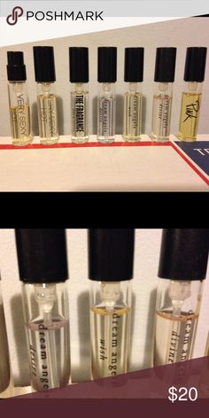 """VS travel size Six different fragrances, two are the same. They all have been used. Some a little more than others. Sorry I kept the """"sexy little thing!"""" FOUND  another bottle! 👍💕💕 Victoria's Secret Other"""