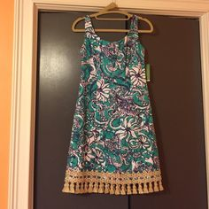 Lilly Pulitzer Dress Lilly Pulitzer Dress NEVER Been worn!!! Still has tags on it! Lilly Pulitzer Dresses Mini