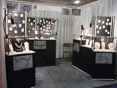 Booth setup advice and avoiding shoplifting. Precious Gems Jewelry Legend: Set Up an Amazing Jewelry Booth Or Display