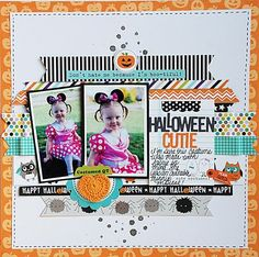#papercraft #Scrapbook #layout   Becki Adams