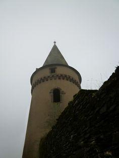 """""""Le Chateau-Palais de Vianden""""(Castello), Vianden, Luxembourg, Novembre"""