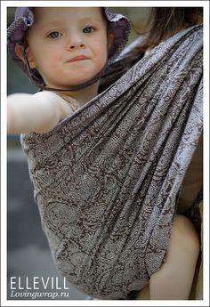 d6ef5e3430b Ellevill Paisley Java Baby Wraps