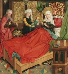 BBC - Culture - The bed in art history: Between the sheets Medieval World, Medieval Art, Medieval Fashion, Medieval Clothing, Medieval Bedroom, St Jean Baptiste, Renaissance Kunst, 16th Century Clothing, Kunsthistorisches Museum