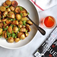 Crispy Salt and Vinegar Potatoes: These Are The Days | Turntable Kitchen