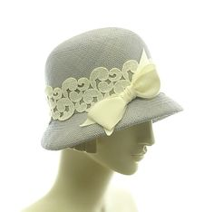 Straw Cloche Hat for Women  1920s Fashion Hat  by TheMillineryShop, $235.00