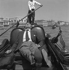 Gary Cooper, Venice.