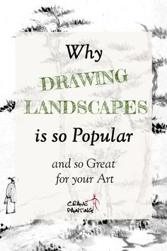 Ever since the dawn of men have we loved sketching meadows, woods, gardens and mountains. They're not just beautiful but also great to improve our skill set. Drawing Skills, Drawing Lessons, Landscape Drawings, Landscapes, Sketches Of Love, Art And Hobby, Drawing Exercises, Stippling, Easy Drawings