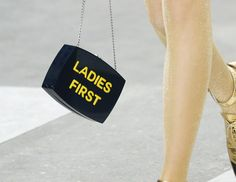 Chanel's Spring 2015 Bags are Protest-Inspired Mixed Bag