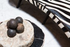 Zebra and stone details from our showroom... http://bdantiques.com/