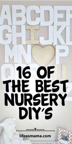 16 Of The Best Nursery DIYS