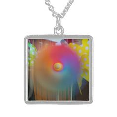 Rainbow Spinner Custom Necklace
