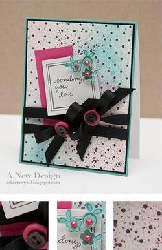 DeNami Retro Love card by Ashley