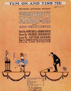 George White's Scandals of 1920 Gershwin Music