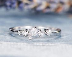HANDMADE RINGS & BRIDAL SETS by MoissaniteRings on Etsy Bridal Ring Sets, Handmade Rings, Wedding Rings, Engagement Rings, Diamond, Merry, Jewelry, Fashion, Enagement Rings