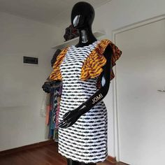 African Inspired Fashion, Latest African Fashion Dresses, African Print Fashion, African Attire, African Wear, African Dress, Short Ankara Dresses, Ankara Dress Styles, Summer Dress Outfits