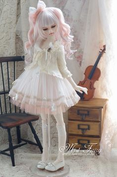 bjd-finds:  (via AMORS Tailor BJD doll clothes dress 1/34 point size doll clothes [Mist Fairy] pre - Taobao)
