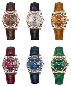 Rolex Day-Date Luxury Watches Collection. New and Authentic Watches for Sale. Rolex Watches For Men, Gents Watches, Luxury Watches For Men, Cool Watches, Stylish Watches, Rolex Oyster Perpetual, Rolex Day Date, New Rolex, Hand Watch