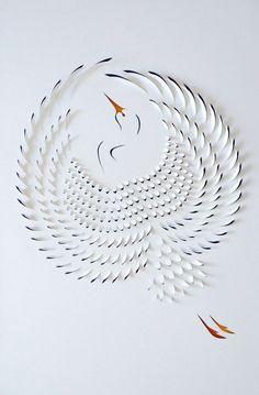 paper art by lisa rodden #paper #art