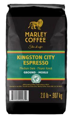 Marley Coffee Ground Coffee, Kingston City Espresso #Coffee #MarleyCoffee
