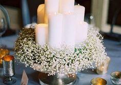 Centerpiece Wedding Baby Breath Bouquet