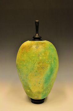 Alternative Raku Sagger Pottery - Glazed with Soluble Metal Salts