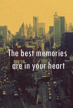 The best memories...