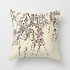 Floral throw pillow cover chic home decor flower photo pillow cover fine art photograph throw pillow purple grey op Etsy, 34,24€