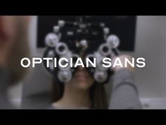 Optician Sans is a free typeface based on the historical eye charts and optotypes used by opticians world wide. Optician Sans is based on the same visual pri. Photography Equipment, Photography Tips, How To Make Letters, Work For Hire, Free Typeface, Eye Chart, Festival Camping, Word Free, Learning Letters