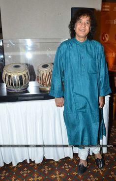 Tabla maestro Zakir Hussain