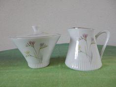 Sugar Bowl and milk jug Eschenbach Bavaria Germany