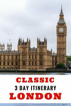London travel - Classic itinerary for 3 days in London.Things to do in London, where to stay in London | London itinerary #london #itinerary
