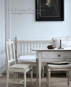 Swedish Decor, Swedish Style, Swedish Interiors, Vintage Interiors, Country Interior, Country Decor, Wabi Sabi, Vibeke Design, European Furniture