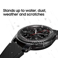 Samsung Gear Frontier Smartwatch (Bluetooth), US Version with Warranty Wearable Technology, Digital Technology, Smartwatch Bluetooth, Samsung Gear S3 Frontier, Buy Mobile, Smart Bracelet, Stainless Steel Case, Cell Phone Accessories, Gears