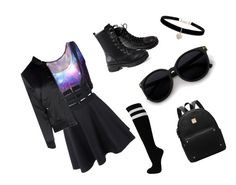 """""""Back to school"""" by kirsten-adams38 on Polyvore featuring Betsey Johnson and Glamorous"""
