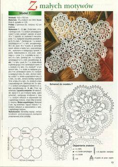 World crochet: Motive 198 Crochet Table Runner, Crochet Tablecloth, Crochet Doilies, Crochet Flowers, Crochet Lace, Free Crochet, Crochet Motif Patterns, Crochet Diagram, Crochet Circles