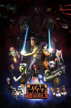 Star Wars Rebels Season 2: Retro Poster by TheGimyo.deviantart.com on @DeviantArt