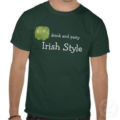 lettucedrink and party irish style shirt