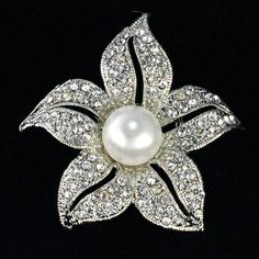 Floral brooches $7.50