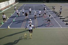 A DAY AT HARVEST TENNIS ACADEMY :    Great athletic prowess is the result of striking and maintaining that perfect balance between taking your game to the extreme, pushing your physical abilities and raising the bar for yourself and then rewarding yourself with that much needed cool down period.  Visit us at :http://www.tennisindiamagazine.com/aday.html