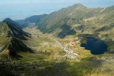 Balea Lake is a glacial lake located at 2034 m altitude in Fagaras Mountains - ROMANIA. Grand Tour, Dubrovnik, Positano, Sibiu Romania, Balea, City Break, Best Cities, Continents, Wonderful Places