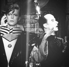 - David Bowie & Klaus Nomi - what an amazing surprise it was seeing this when it aired! Still incredible performances...