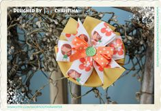 Hula Girl  Hair Bow by south4winter on Etsy, $8.00