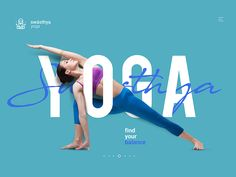 Yoga Dribbble designed by Daniel Valente. Connect with them on Dribbble; Cover Design, Ad Design, Design Trends, Sports Advertising, Advertising Design, Sports Graphic Design, Graphic Design Posters, Creative Poster Design, Yoga Inspiration