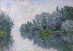 Claude Monet, The Seine near Giverny, 1885, oil on canvas, Museum of Art, Rhode Island School of Design, Providence, Museum Appropriation Fund, by exchange.