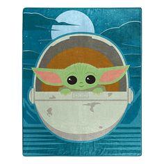 Star Wars The Child (Aka Baby Yoda) Star Boy Raschel Throw